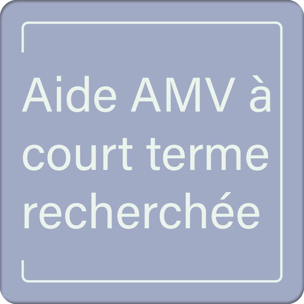 ASAMV - Aide AMV à court terme recherchée