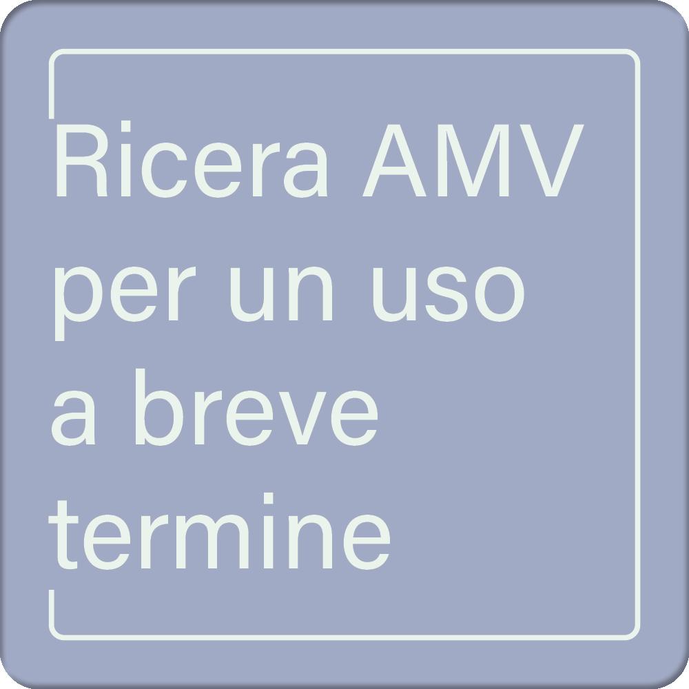 ASAMV - Ricera AMV per un uso a breve termine